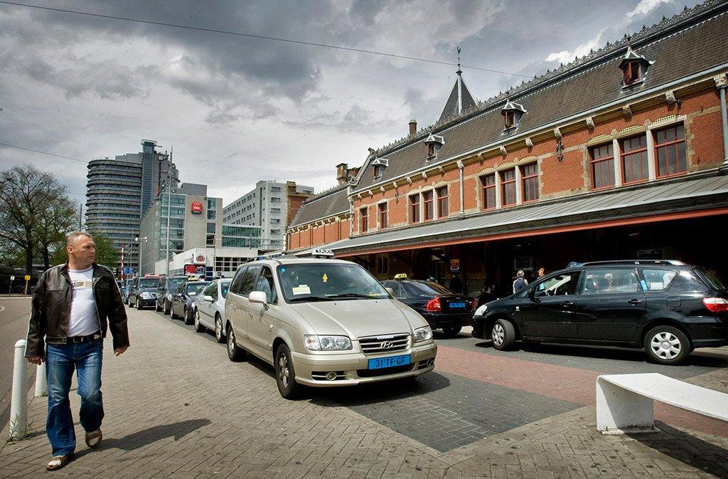 Такси в Амстердаме