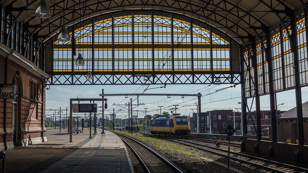 Вокзал в Гааге