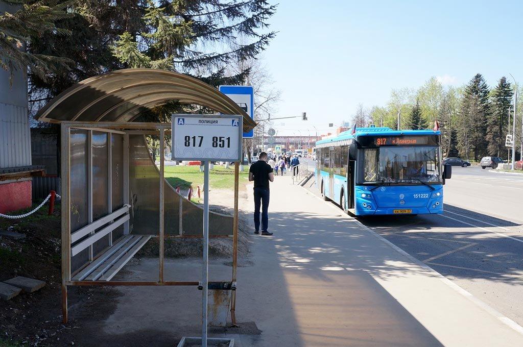 Остановка автобуса 851
