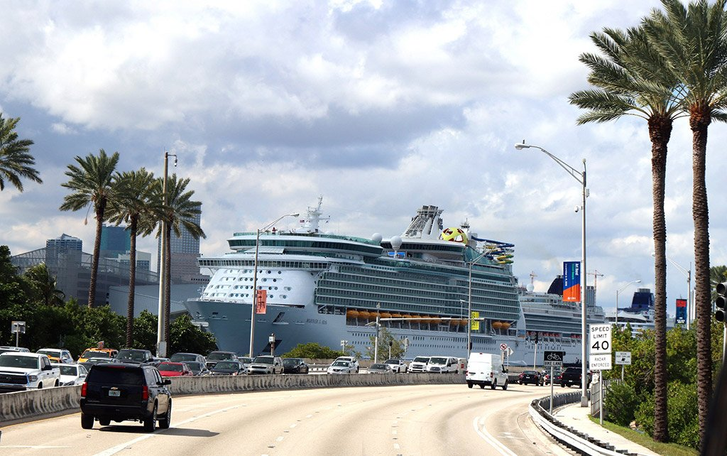 Порт в Майами