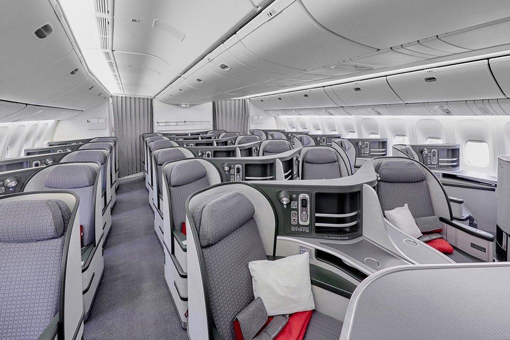 Бизнес-класс Боинга 777-300