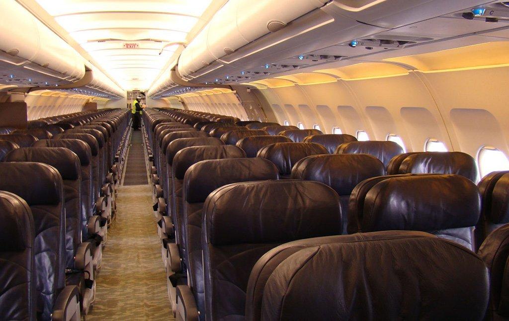 Салон Аэробуса А321