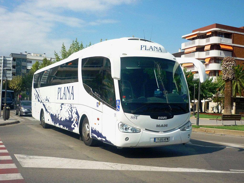 Автобус из Барселоны