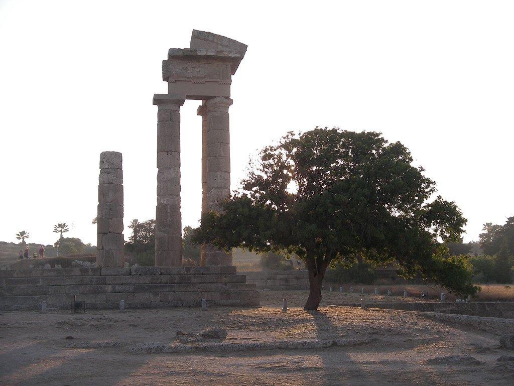 Родосский акрополь