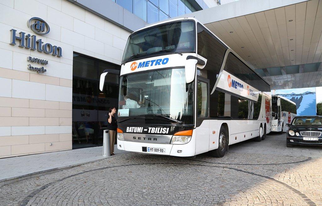 Автобус из Тбилиси