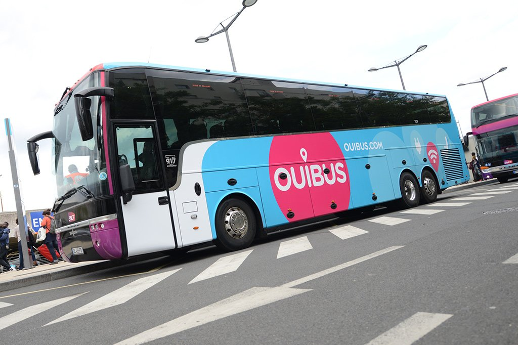 Автобус в Ниццу