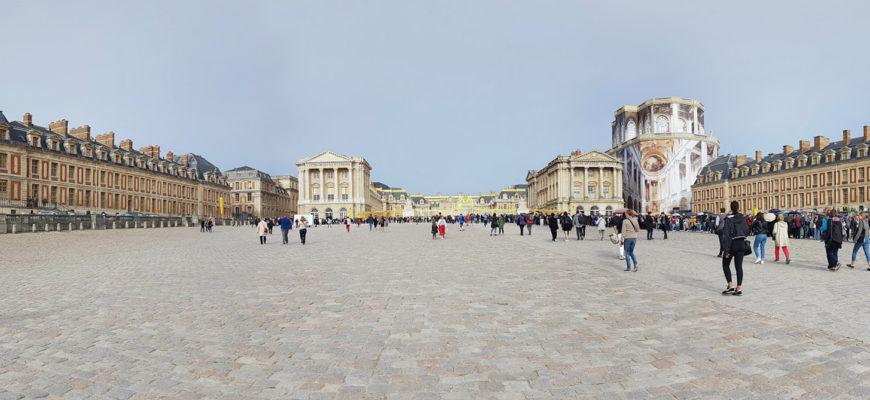 Как доехать до Версаля из Парижа