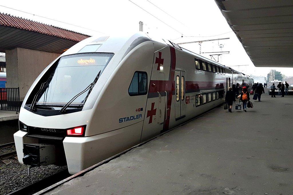 Поезд в Батуми