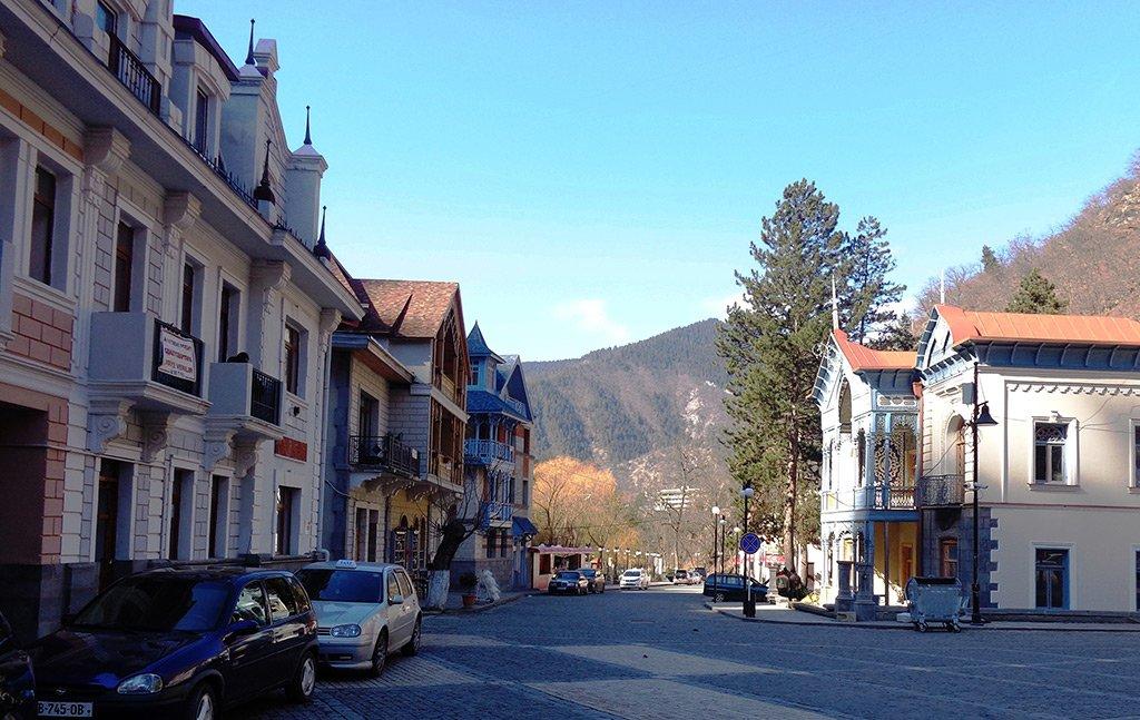 Улица Боржоми