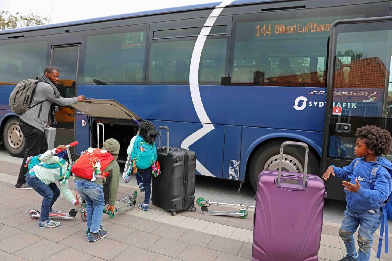 Автобус из Копенгагена в Леголенд