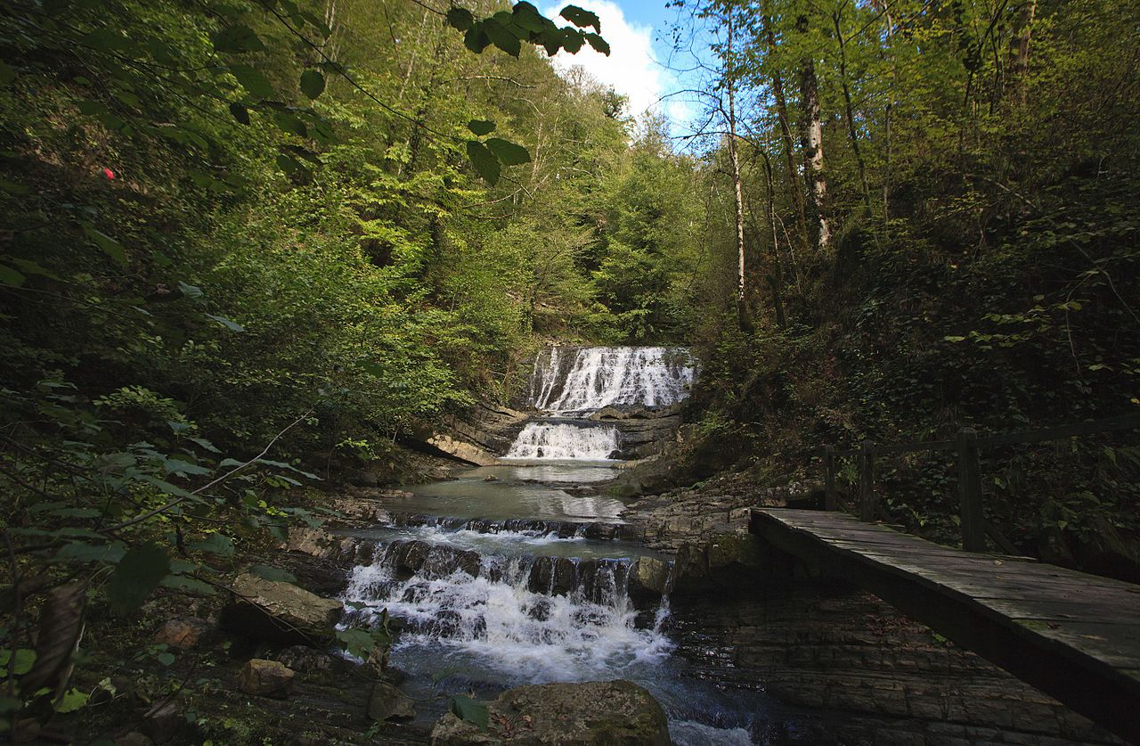 Змейковые водопады