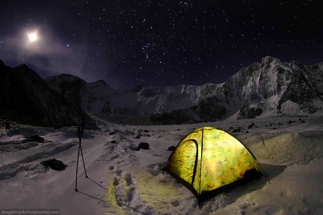 Ночь в палатке