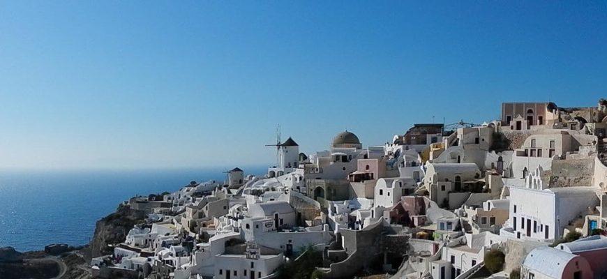 Панорама греческих островов