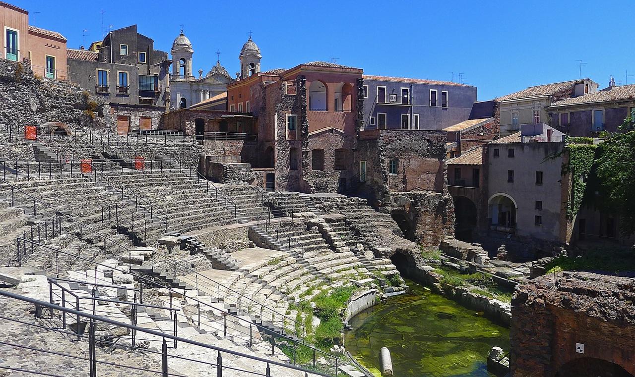 Амфитеатр в Катании