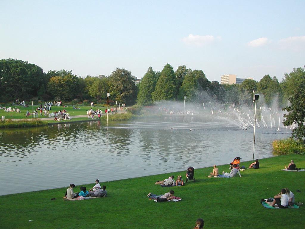 Парк в Гамбурге