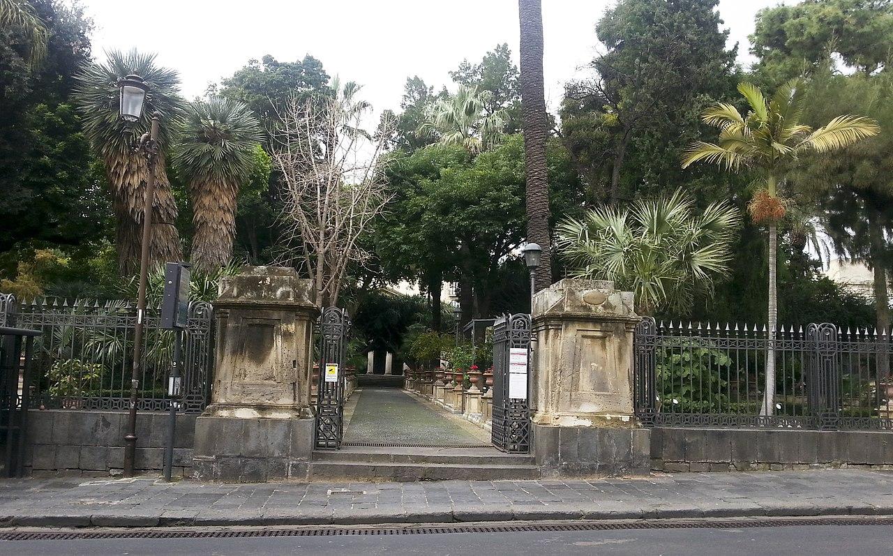 Ботанический сад в Катании