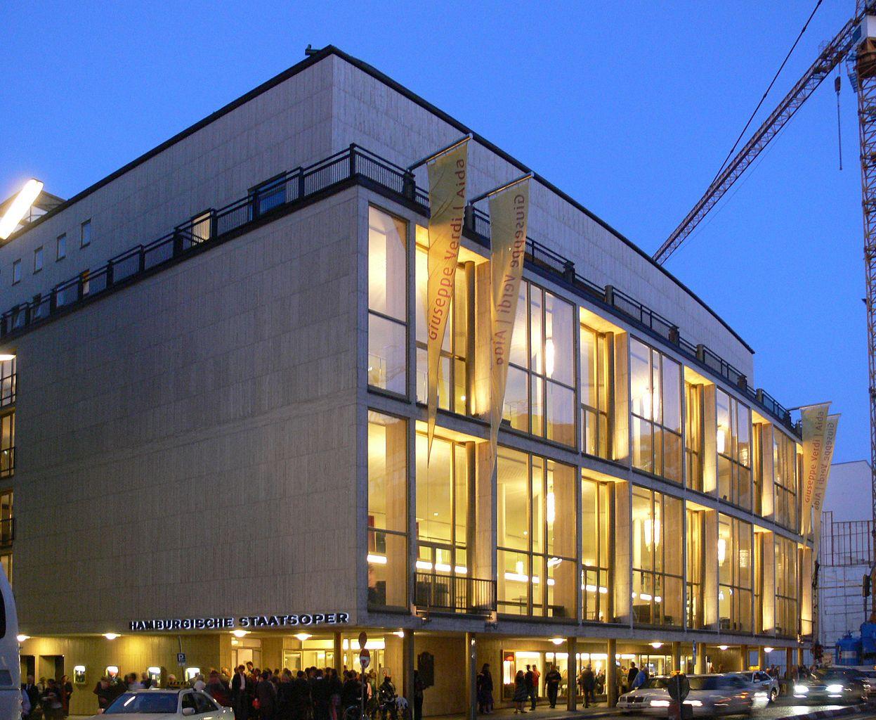 Оперный театр в Гамбурге