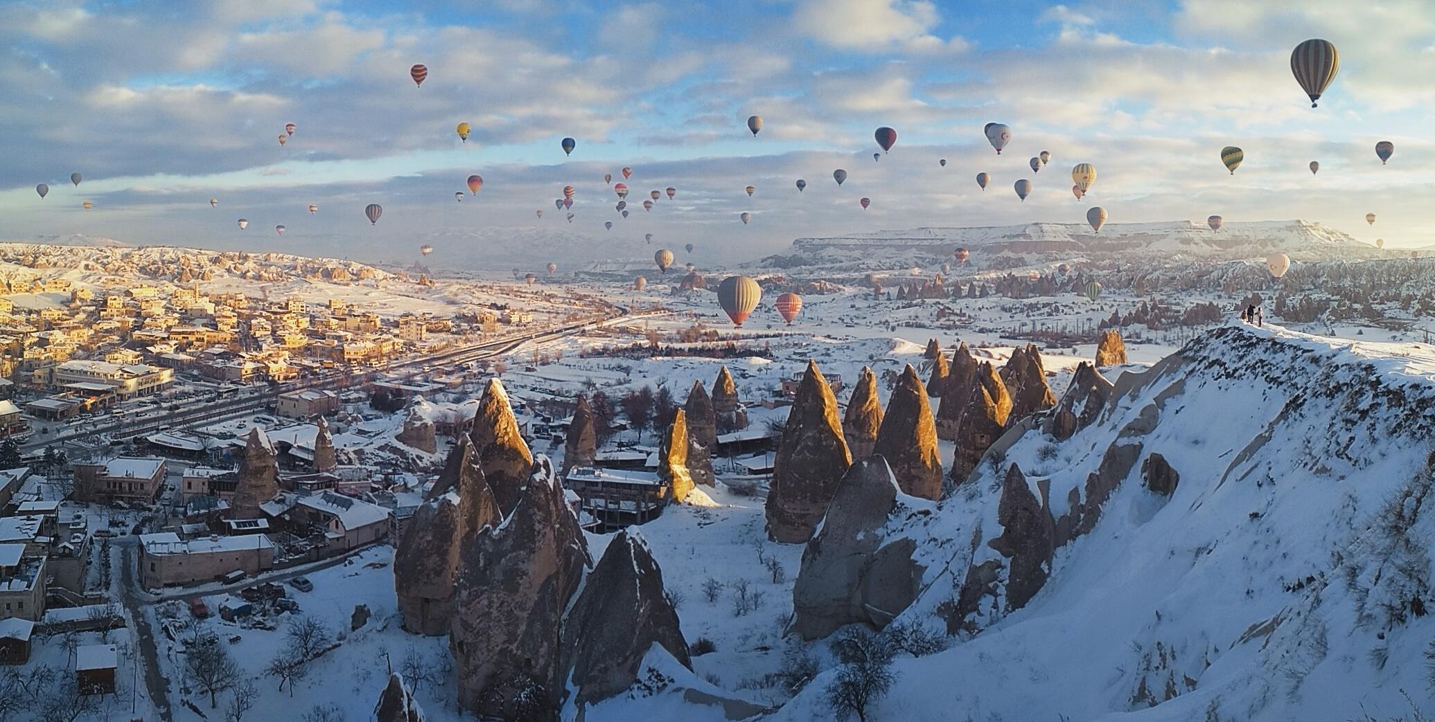 Зима в Каппадокии