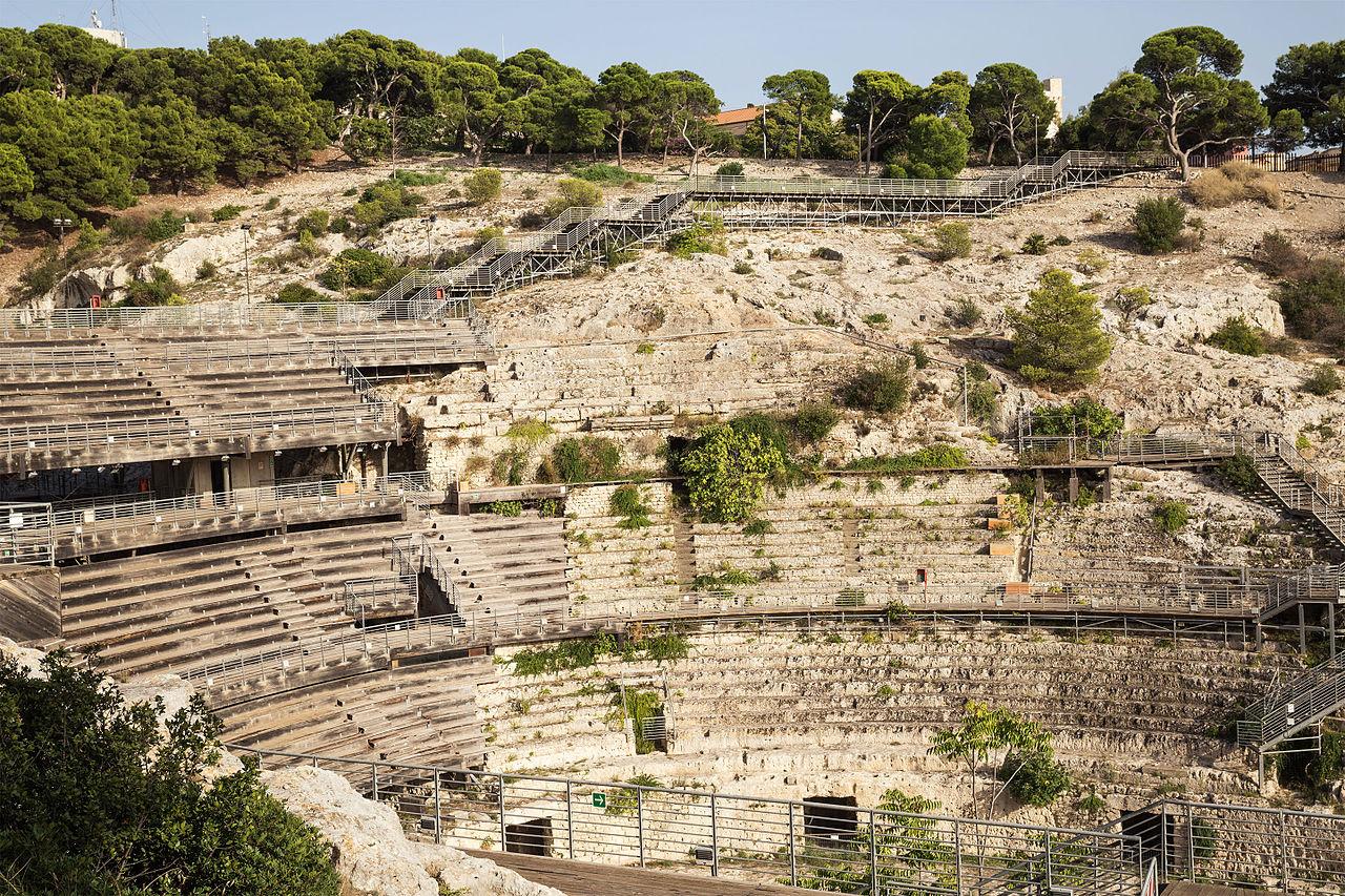 Амфитеатр в Кальяри