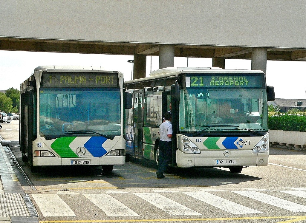 Автобус №1 и №21