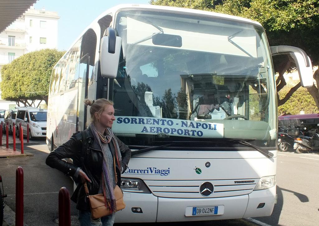 Автобус Сорренто - Неаполь