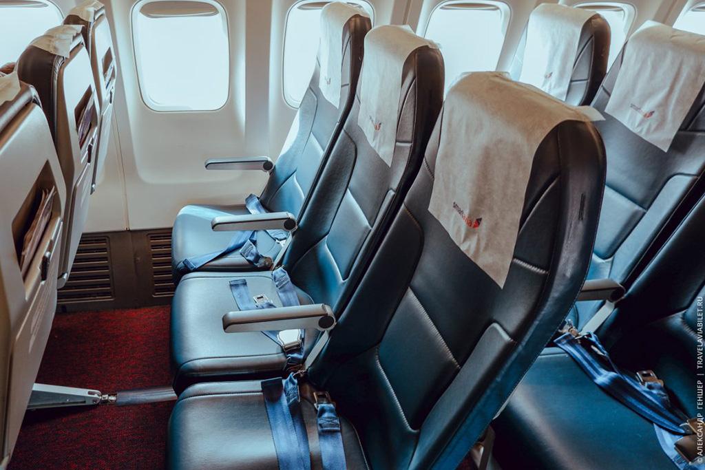 Эконом-класс Боинга 737-700