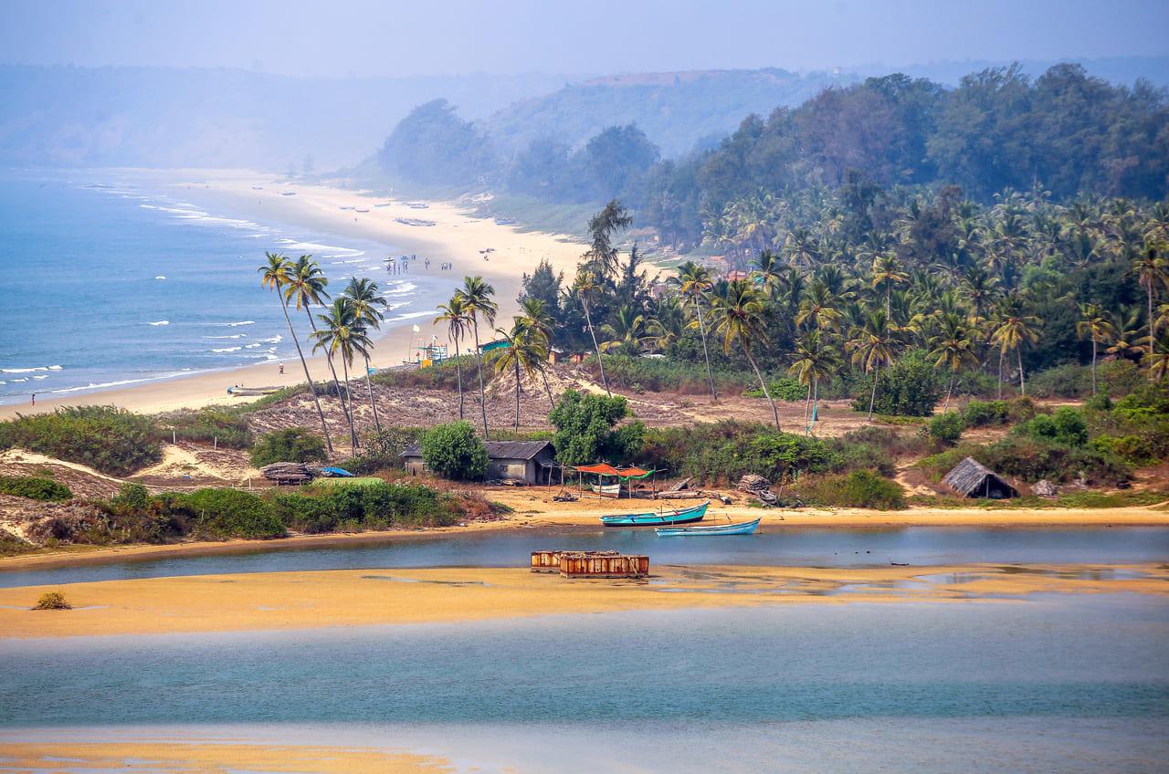 Красивые виды на Гоа в Индии