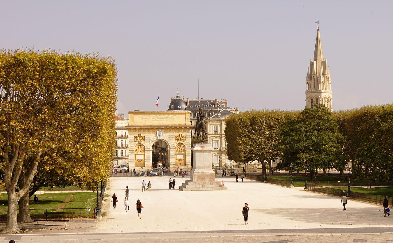 Площадь Монпелье