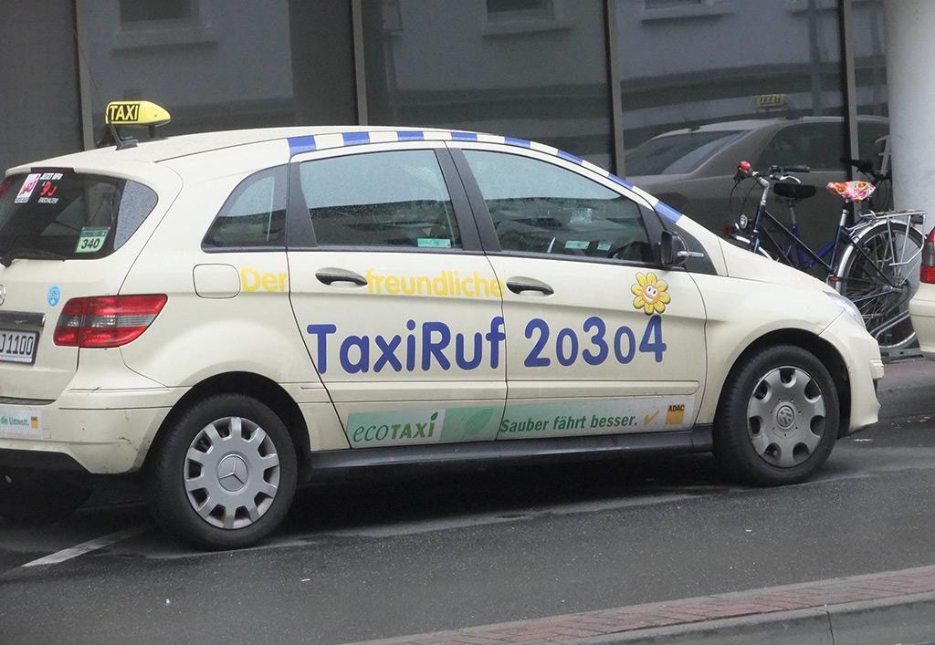 Такси Франкфурта