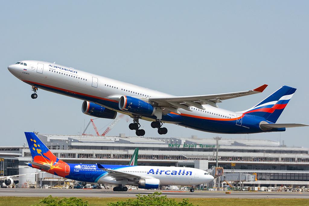 Взлет А330-300