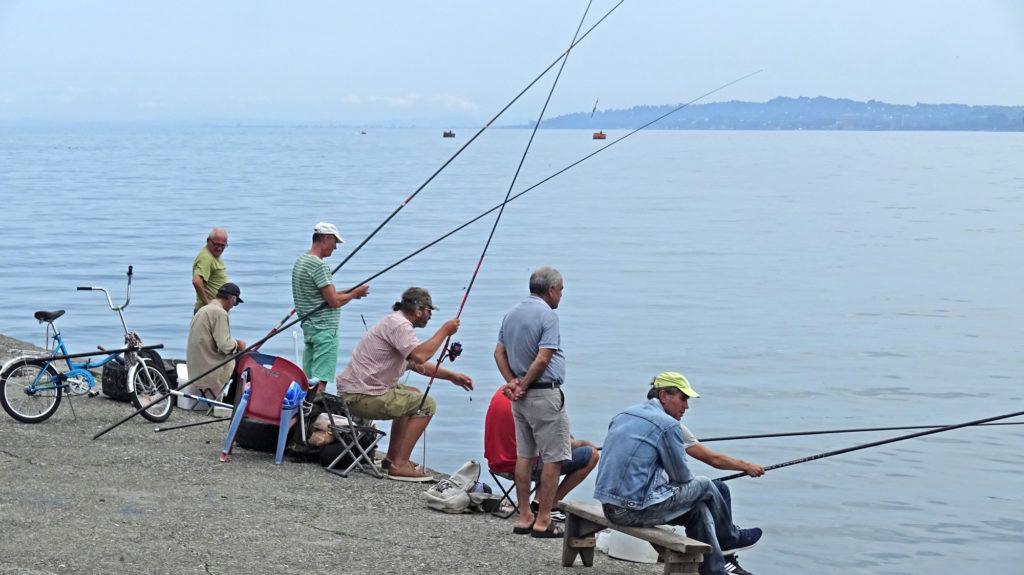Батумские рыбаки.